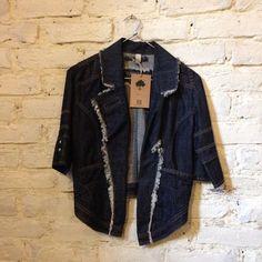 #jean #jacket #whitebrick #closetcircuit