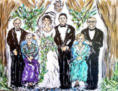 "artbyzsazsa: "" ""The Kasper Wedding"" by ZsaZsa Bellagio artpassionzsazsabellagio.blogspot.com """