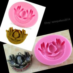 This flexible, F ood Grade Silicone Mold can be used with edible and not edible materials like: Polymer Clay, Resin Clay, Cold Porcelain, Salt Dough, Chocolate, Fondant, Gum paste, Marzipan, flower-paste, resin, Sugar, Butter, Soap, Wax, isomalt, plaster, ice, clay, etc.   eBay! https://www.ebay.com/usr/sasepafero2014