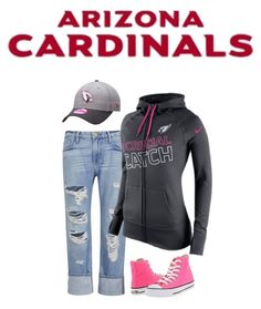 Arizona Cardinals Gameday Attire #NFLPink #AZCardinals #NFLFanStyle