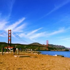Crissy Field on an especially vibrant day.