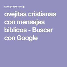 ovejitas cristianas con mensajes biblicos - Buscar con Google