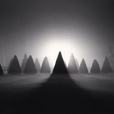 Michael Kenna, Above the Abreuvoir, France, 1996