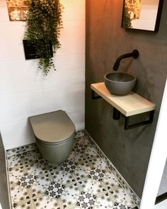 Downstairs Bathroom, Small Bathroom, Bathroom Ideas, Remodled Bathrooms, Colorful Bathroom, Bathroom Trends, White Bathroom, Bathroom Designs, Master Bathroom