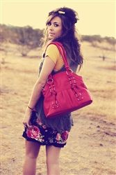 Epiphanie Red Lola camera bag! Cute and Stylish! =D