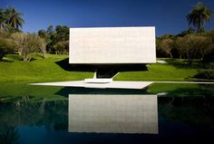 Inhotim Art Institute and Botanical Garden . . . contrast of cubes against nature
