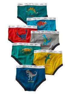 Gap Dinosaur Days Of The Week Underwear | 7 pack