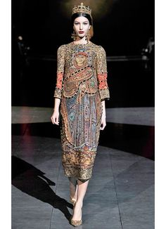 Dolce and Gabbana Fall 2013 Runway