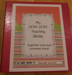 IBTEACHNU Language Arts: Binder Bliss!