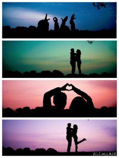 Silhouettes we did last weekend...I wanna do moreeeeeeee. Www.facebook.com/Imagerybyabi