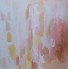 original abstract painting acrylic painting pink abstract pamela munger. $110.00, via Etsy.