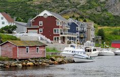 Brigus, Newfoundland, Canada - about an hours drive from the capitol of st. (photo by Nagel Photograpy for Shutterstock) Ecuador, The Places Youll Go, Places To See, Newfoundland And Labrador, Newfoundland Canada, Monumental Architecture, Peru, Discover Canada, Chile