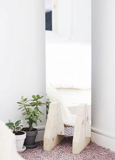 A Minimal Floor Mirror DIY