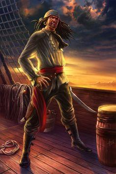 "Pirates:  ""#Pirate,"" by hunqwert, at deviantART."
