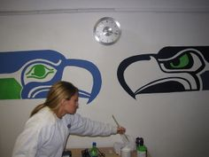 Seahawks room-McKee could paint