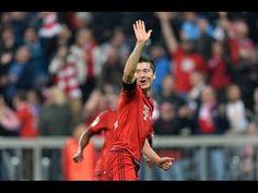 Compilation of Robert Lewandowski All five goals against Wolfsburg in 1 min