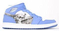 Air Jordan 1 (I) Retro Alpha - University Blue / White-Black