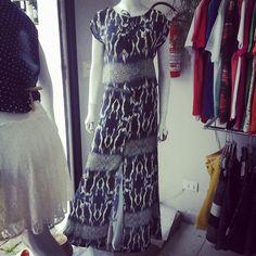 Vestido longo #Displicent você encontra aqui na Leodoro grupo Wk Modas
