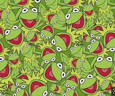 Miss Piggy, Frog Wallpaper, Wallpaper Backgrounds, Wallpapers, Sapo Kermit, Fraggle Rock, Pinturas Disney, The Muppet Show, Frog Art