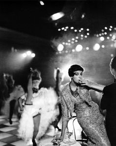 Fashion at the Moulin Rouge. Photo by Richard Avedon.