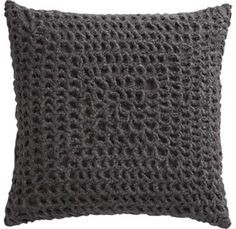 Crochet pillow, very nice!