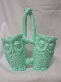 Hey, I found this really awesome Etsy listing at https://www.etsy.com/listing/152594978/tootsie-pop-owl-kitchen-caddy-mint-green
