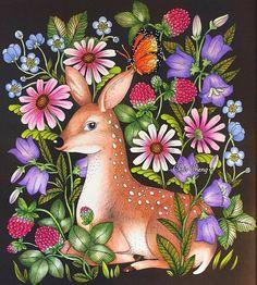 Inspirational Coloring Pages by @colorvscolour #inspiração #coloringbooks #livrosdecolorir #blomstermandala #mariatrolle #adultcoloring