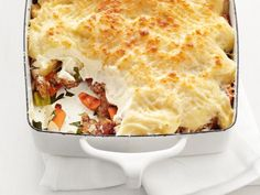 Vegetable Shepherd's Pie: Skip the meat and stuff this pie with turnips, carrots and celery instead.
