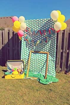 Party Ideas Planning Idea Carnival Supplies Decorations Circus Party with So Many Cute Ideas via Kara's Party Ideas Circus Carnival Party, Circus Theme Party, Carnival Birthday Parties, Circus Birthday, Birthday Diy, Diy Carnival, Carnival Food, Carnival Makeup, Carnival Rides