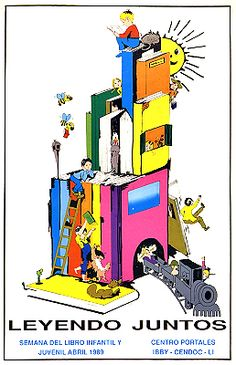Leyendo juntos / Semana del libro infantil y juvenil, abril 1989 ; patrocinado por Centro Portales, CENDOC-LI, IBBY (1989)