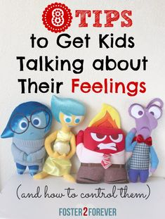 A Fun Way To Teach Children to Control Emotions - Foster2Forever