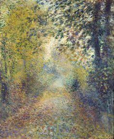 Pierre Auguste Renoir Poster In The Woods