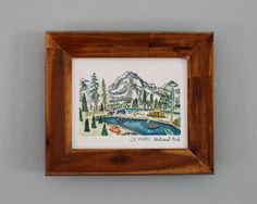 Olympic National Park 8x10 Art Print by ErinVaughan on Etsy