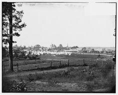 [Culpeper, Va. Encampment on the edge of town]