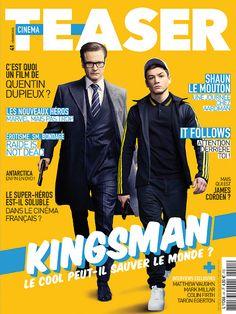 CINEMA TEASER February 2015 Colin Firth and Taron Egerton 'Kingsman'