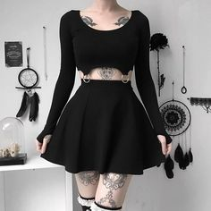 Pastel Goth Outfits, Edgy Outfits, Grunge Outfits, Cool Outfits, Alternative Outfits, Alternative Fashion, Dark Fashion, Grunge Fashion, Gothic Fashion