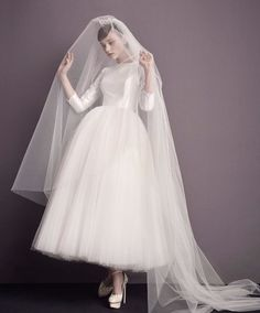 Cheap robe de mariage, Buy Quality ankle length wedding dresses directly from China boho wedding dress Suppliers: Vestido De Noiva New Charming Ankle Length Wedding Dress 2017 O-neck Wedding Gown Romantic Boho Wedding Dresses robe de mariage Stunning Wedding Dresses, Wedding Dress Trends, Colored Wedding Dresses, Boho Wedding Dress, Wedding Gowns, Elegant Wedding, Ankle Length Wedding Dress, Traditional Gowns, Bridal Skirts