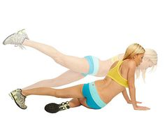 Mastered the plank? Try the Corkscrew Plank for an added firm-and-burn challenge. #workout #fitnessmagazine