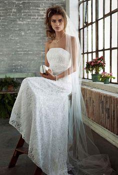 Американские свадебные платья кружевные
