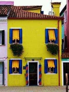 #Burano #colors #yellow