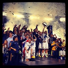 Herbalife fuels Champions!! L.A. Galaxy win 2nd straight MLS Cup in Beckham's last U.S. game