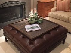 Just Like Our Original And Oversized Ottoman Trays You Can Get It In A Square No Room For Coffee Table We Have The Solution