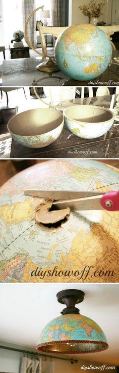 Half Globe Lampshade