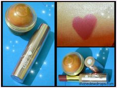 Body Shop lip balm and Lakme 9 to 5