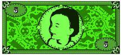 Wie cool ist das denn??? Spielgeld - mit dem Foto eures Kindes individualisiert!!!