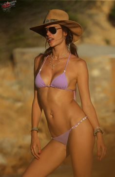 Alessandra Ambrosio is seen on the beach while on vacation on July 10, 2017 in Ibiza, Spain