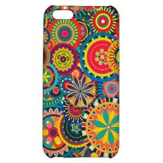 Colorful funky retro circles pattern. You can follow me if you like :) Please visit my store for more products with high quality trendy designs! --> VIP Boutique Gift Shop View more gifts at VIP Boutique.