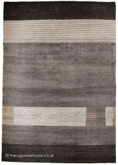 Natura Grey Rug, a hand-knotted undyed wool rug in grey, cream, sand & charcoal http://www.therugswarehouse.co.uk/modern-rugs3/natur-pur-rugs/natura-grey-rug.html #rugs #undyedwool #luxury