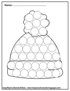 winter do a dot marker free printable preschool coloring pages ,winter painting activity for kids Coloring Pages Winter, Abc Coloring Pages, Preschool Coloring Pages, Free Printable Coloring Pages, Coloring Pages For Kids, Activity Sheets For Kids, Card Games For Kids, Diy For Kids, Dots Free