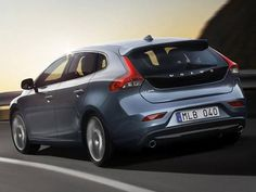 Traseira do novo hatch Volvo V40